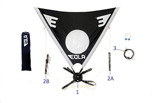 EOLA Vela para Kayak rotativa...