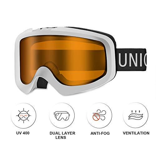 Unigear Gafas de Esquí OTG...