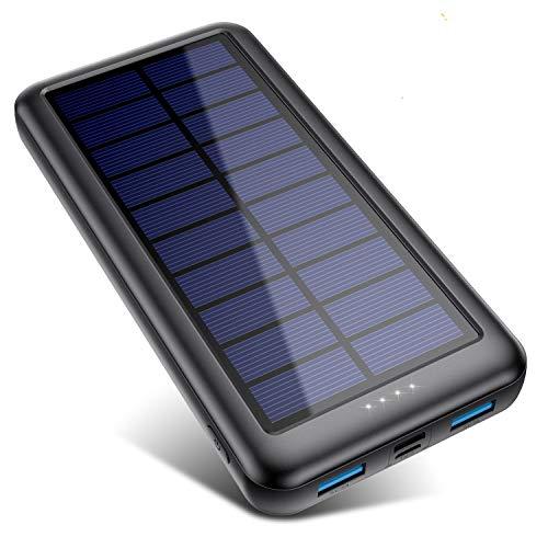 QTshine Cargador Solar con...