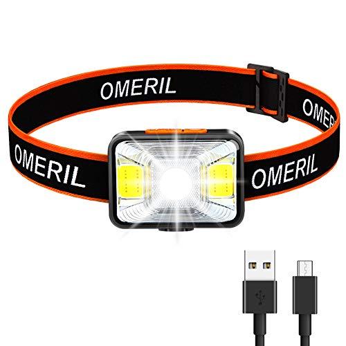 OMERIL Linterna Frontal LED...
