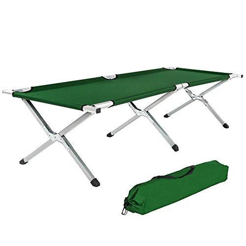 TecTake Cama de Camping XL...