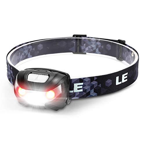 LE Linterna Frontal LED USB...