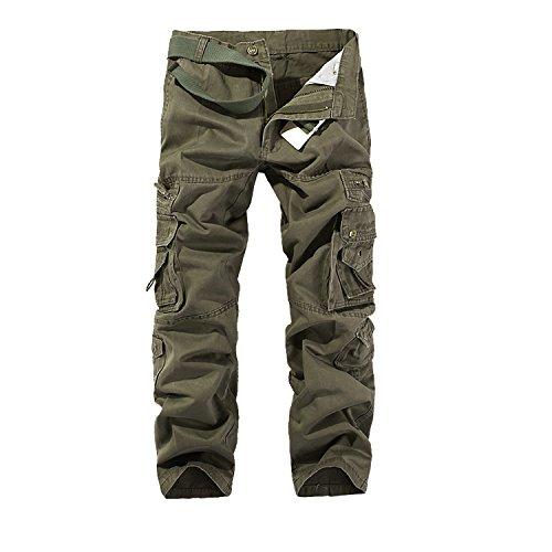 AYG Pantalon Cargo Hombre Mens...