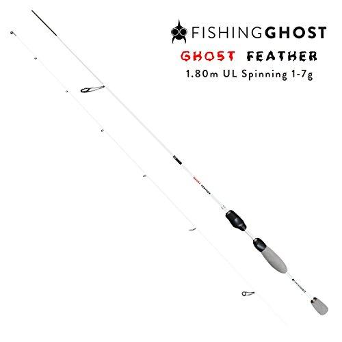 FISHINGGHOST Caña de Pescar -...