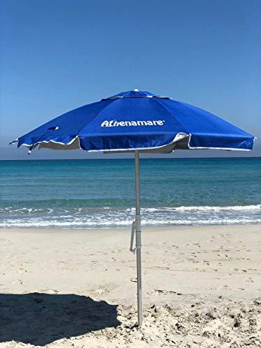 Sombrilla de playa resistente...