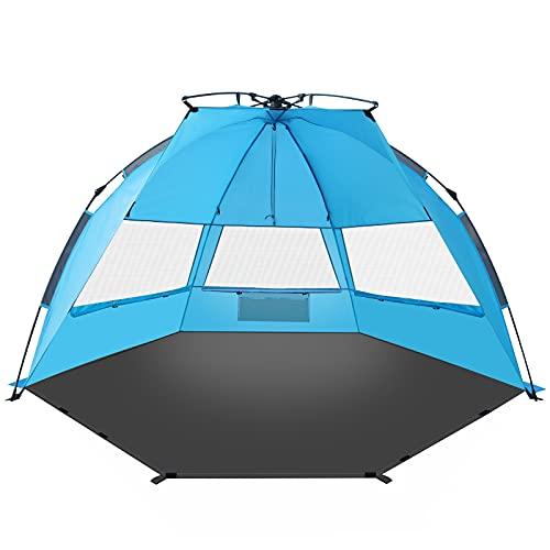 TAGVO Pop Up Beach Tent Sun...