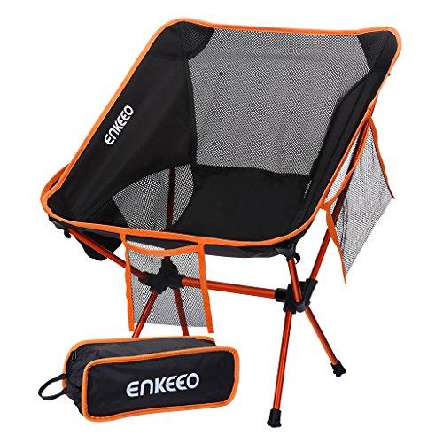ENKEEO Silla de Camping...
