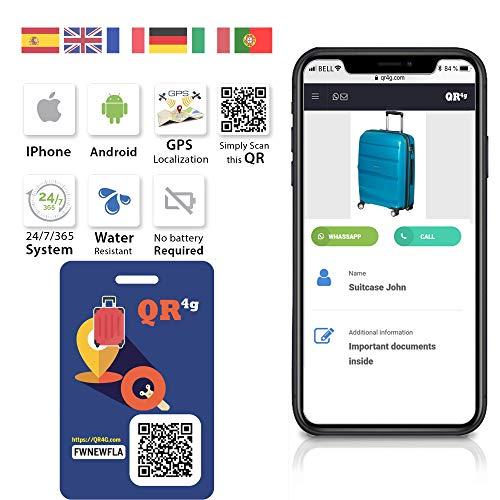 QR4g.com GPS: Placa...