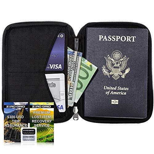 Funda Pasaporte Viaje - Porta...