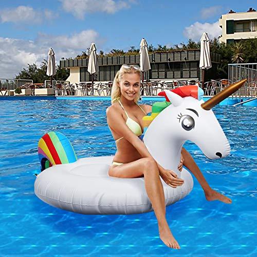 Flotador inflable para piscina...